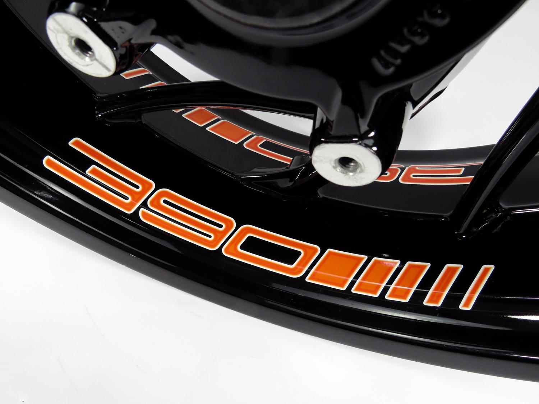 Cerchi Letto-adesivi 4er Set-adatto Per Ktm 390 Duke - 390 Orange - 790074-kleber 4er Set - Passend Für Ktm 390 Duke - 390 Orange - 790074 It-it