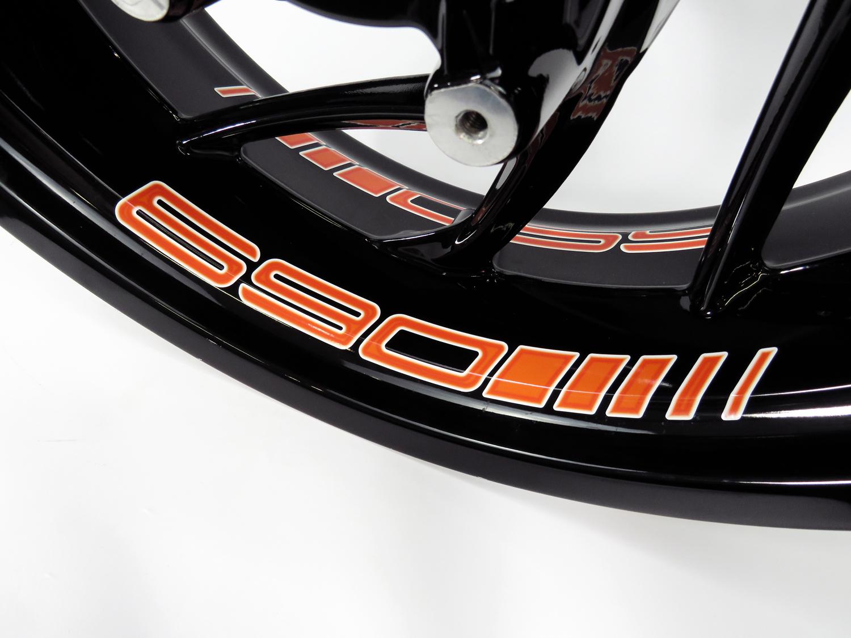 Cerchi Letto-adesivi 4er Set-adatto Per Ktm 690 Duke - 690 Orange - 790076-kleber 4er Set - Passend Für Ktm 690 Duke - 690 Orange - 790076 It-it Ultimi Design Diversificati