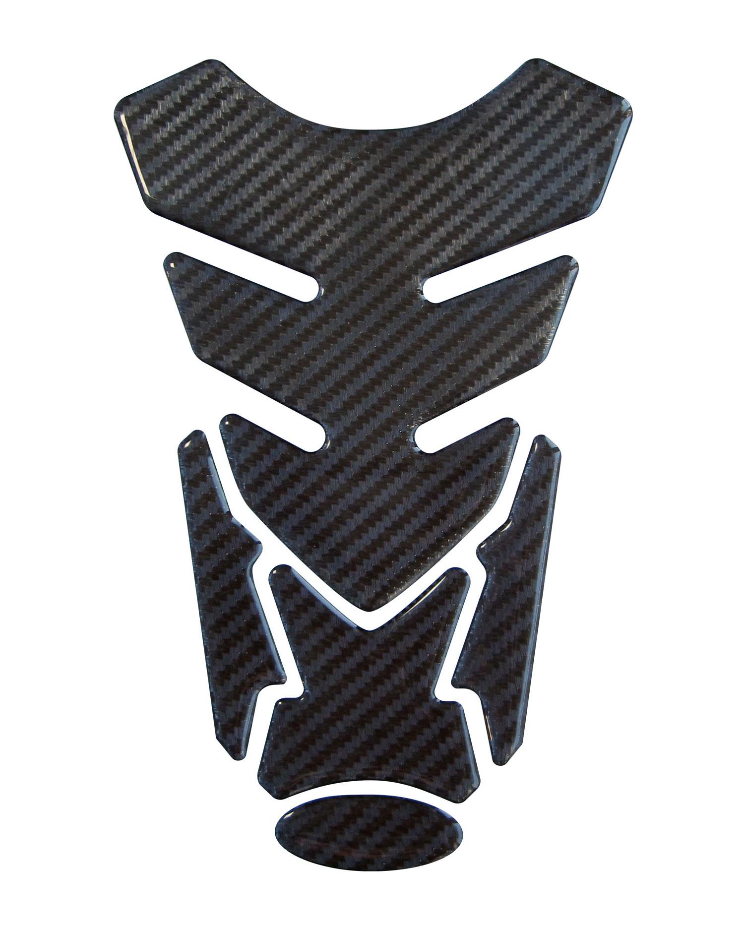 Tankpad 3D 502221/or de Stipe Black and White de protection r/éservoir pour moto de r/éservoir