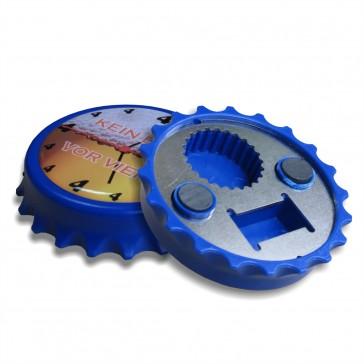 Magnet Kapselheber / Flaschenöffner mit Ihrem Doming Aufkleber