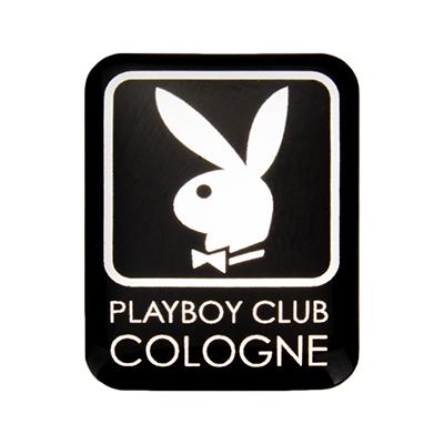 3D-Aufkleber-Playboy-Club