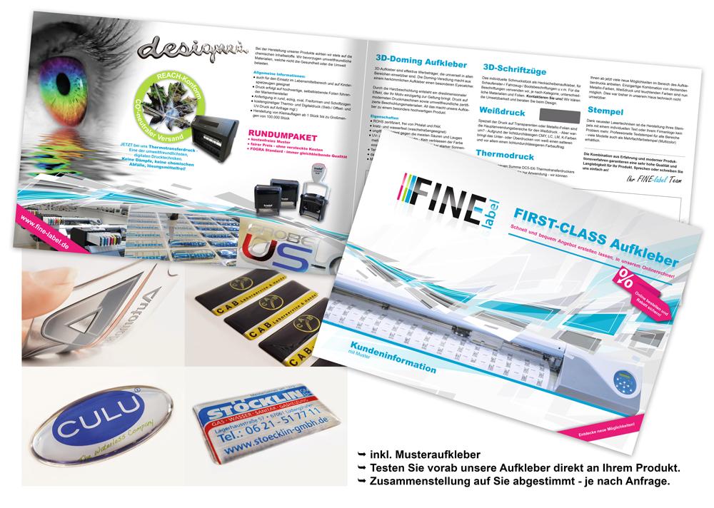 Digitaldruck-Werbemappe
