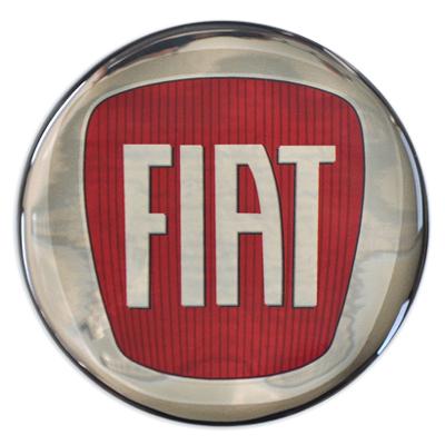 3D-Motivaufkleber-Fiat
