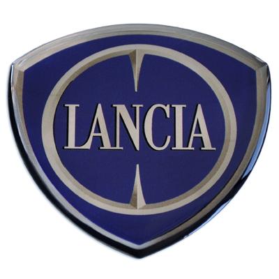 3D-Motivaufkleber-Lancia