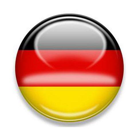 3D-Motivaufkleber-Deutschlandsticker