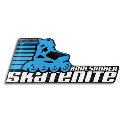 3D-Motivaufkleber-Skatenite