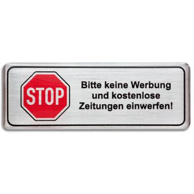 3D-Motivaufkleber-Stop