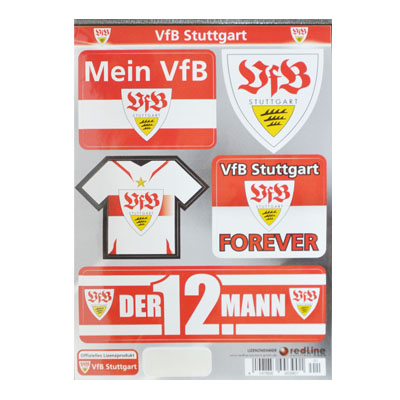 Fan-Aufkleber-VfB-Stuttgart-Sammlung