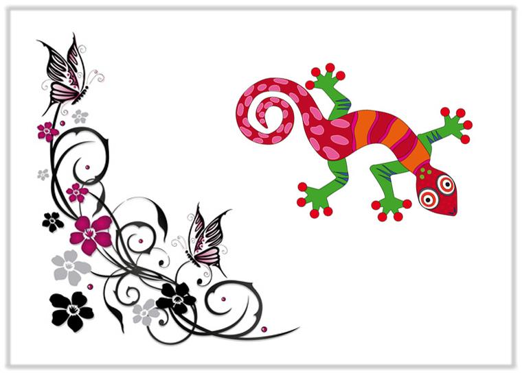 Motivaufkleber-Tiere-und-Deko