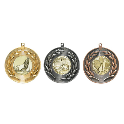 Medallien-Gold-Silber-Bronze