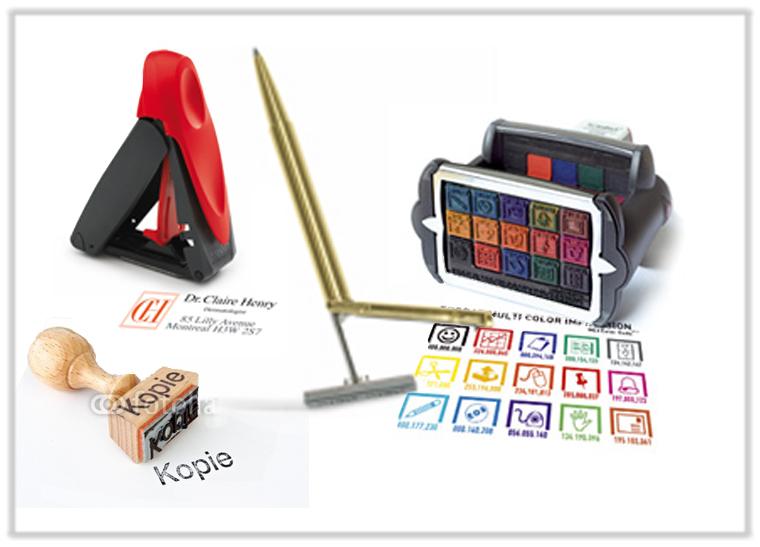 Stempel-Produkte