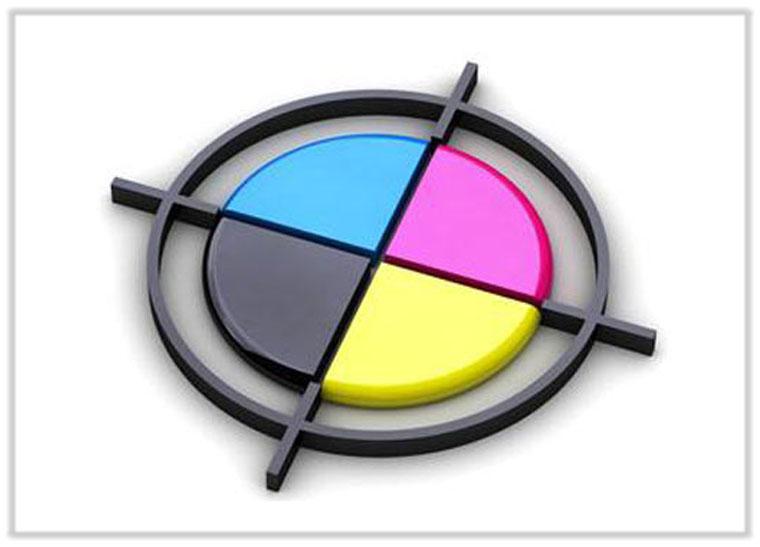 3D-Aufkleber-Farbangaben
