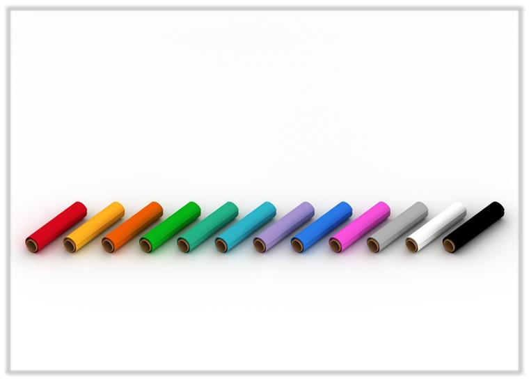 3D-Aufkleber-Folienfarben